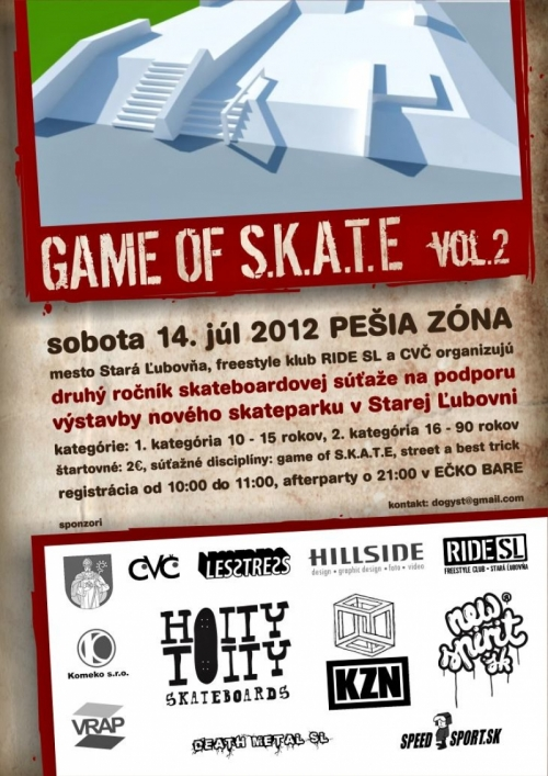 GAME OF S.K.A.T.E - VOL.2
